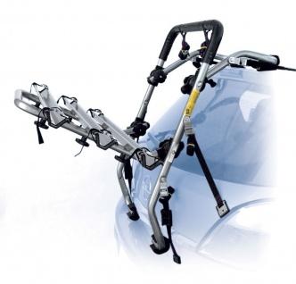 Fahrradträger für Heckklappe für 2 Fahrräder