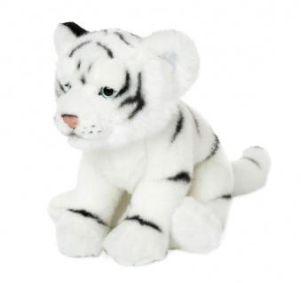 Plüschtier WWF Weißer Tiger, 23cm