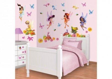 Walltastic Mini Kit Magical Fairies
