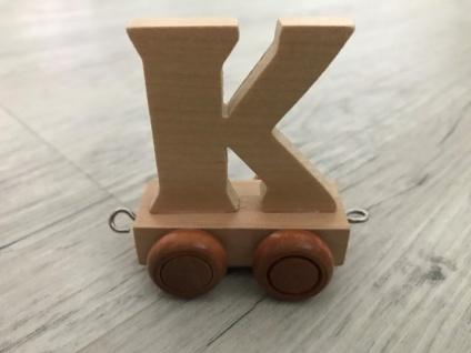 Bino Buchstaben Geburtstagszug - Anhänger K