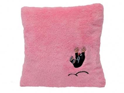 Kissen der kleine Maulwurf, rosa