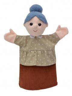 Handpuppe Großmutter, 29cm