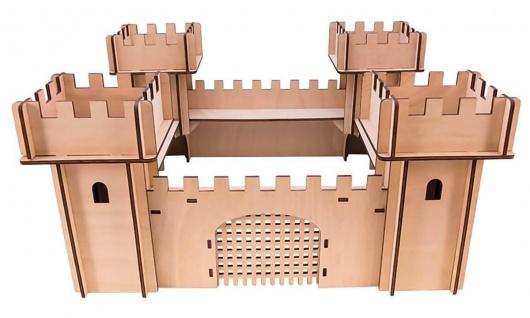 WoodWars - Ritterburg Bausatz