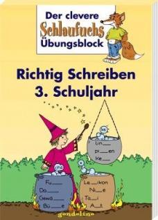 Kinderbuch, Schlaufuchs Richtig Schreiben 3. Schuljahr