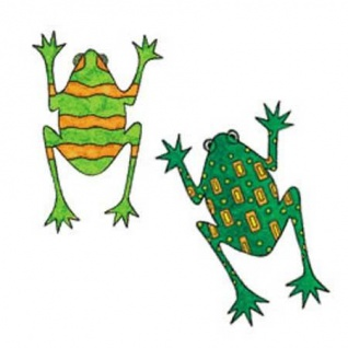Wandaufkleber Wallies Motiv-Sticker(Cutouts) KP Kids Frogs