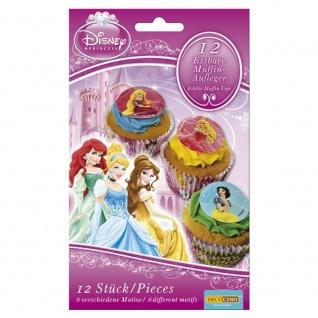 Essbare Muffinaufleger Disney Princess