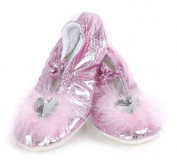 Prinzessinnen Slipper, pink Grösse S (24-26)