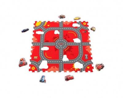 Puzzlematte Modular Race, 9 Matten