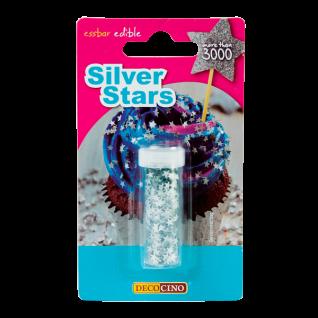 Streudekor Silver Stars