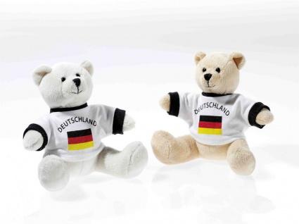 EM-Bärchen mit Shirt Deutschland, 1 Stück, sortierte Ware