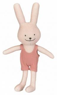 Stofftier Hase Emile - Babyspielzeug