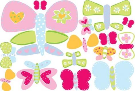 Wandaufkleber Wallies Großes Gemälde(BigMural XL) Schmetterlinge