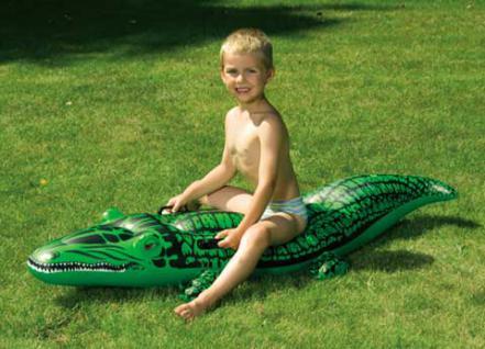 Krokodil, 145x45 cm Badespass für Kinder - Vorschau