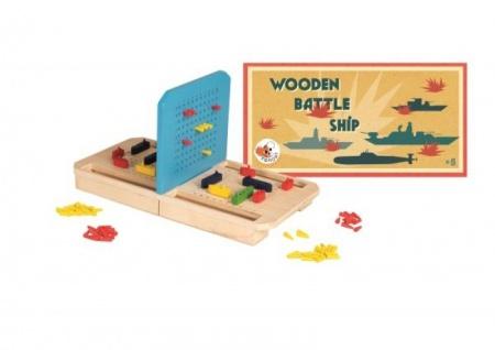 Spiel Schiffe versenken, aus Holz