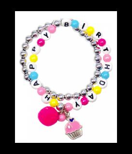 Happy Birthday Armband für Kinder