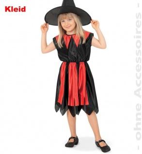 Hexe Esra, Kostüm für Kinder, Grösse 128