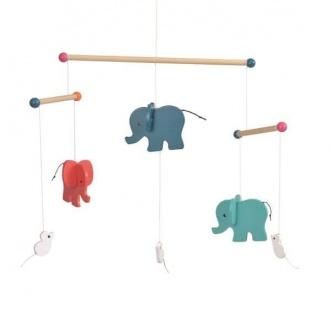 Mobile Elefant (ohne Halterung)