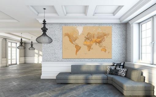 XXL Poster Weltkarte, mit Zeitzonen - Vorschau 2