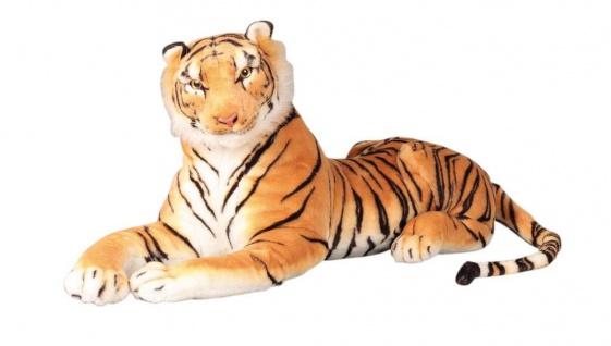Plüschtier großer Tiger Grösse 110 cm