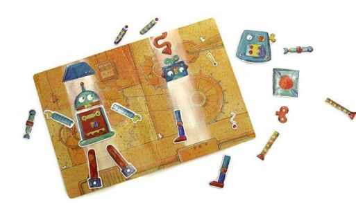 Magnetspiel Roboterfabrik