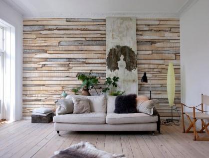 Fototapete Whitewashed Wood
