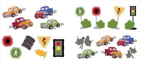 Motiv Sticker, Wandtattoo Fast & Fun für das Kinderzimmer