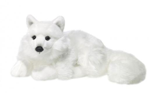 Plüschtier WWF Polarfuchs liegend, 25cm