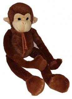 Plüschtier Affe schlenkernd, 45 cm