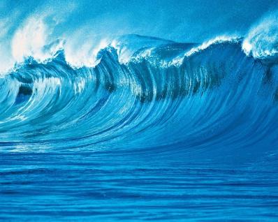 Vlies Fototapete Welle im Meer