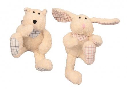 Hundespielzeug Bär und Hase