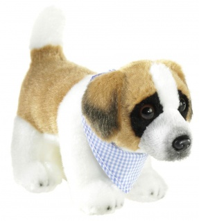 Plüschtier Mi Classico Hund Bernhardiner, 17 cm