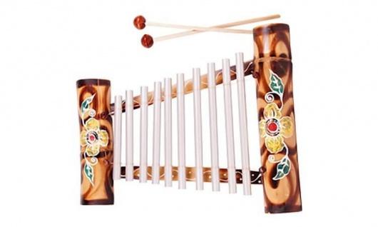 Xylophon Bamboo, Metall