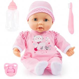 Puppe mit Zahn, 38 cm, rosa