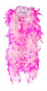 Federboa rosa/pink für Kinder