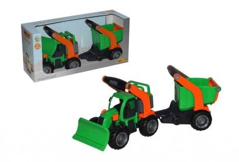 GripTruck Traktor mit Anhänger