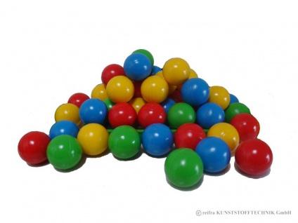 Sortiment Bälle, 30 Stück, 4 Farben im Beutel