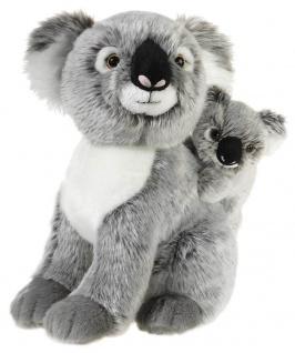 MI CLASSICO Koala Bär mit Baby, Grösse 25 cm