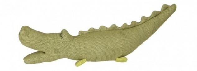 Stofftier Krokodil - Babyspielzeug