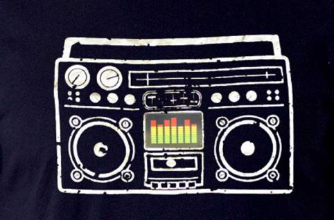 T-Shirt Boombox - Vorschau 2