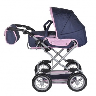 Puppenkombiwagen Salsa Design princess blue