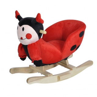 Schaukeltier Ladybug Selma mit Sound