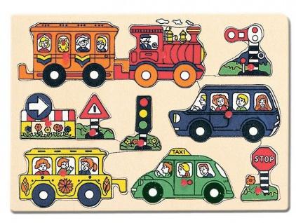 Steckpuzzle Verkehr