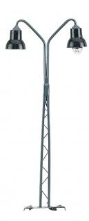Gittermastlampe Spur H0, 2 flammig, 110mm