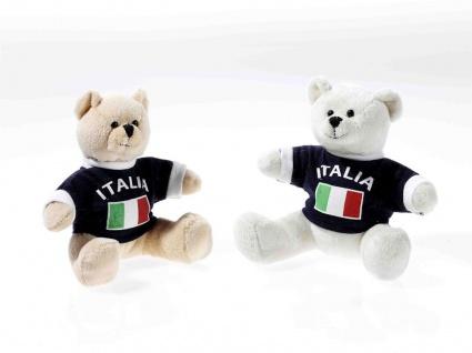EM-Bärchen mit Shirt Italien, 1 Stück, sortierte Ware