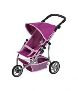 Puppenwagen Jogger Lio - Uma Das Einhorn, purple