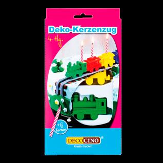 Deko Kerzenzug 4teilig, Tortendekoration