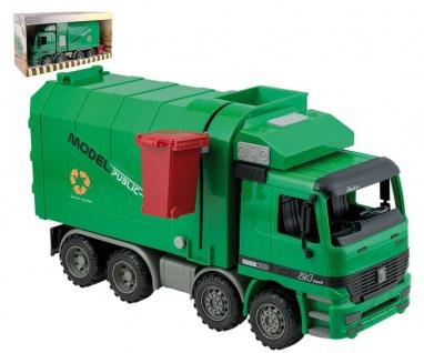 Müllwagen inkl. Mülltonne