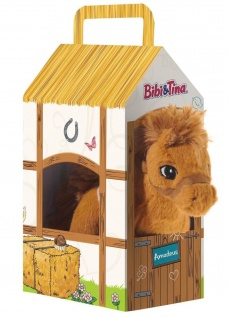 Bibi und Tina - Pferd Amadeus, klein, stehend im Stall
