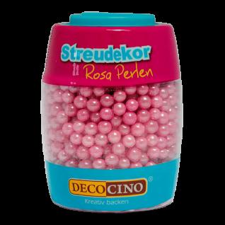 Streudekor Perlen rosa, 65 g - Kuchendekoration
