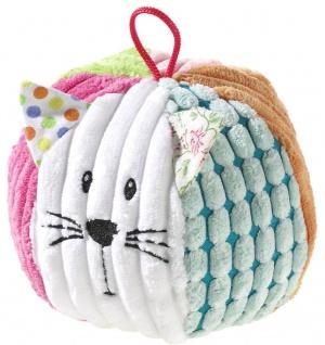 Babyspielzeug - Mixi Mati Ball Katze mit Rassel